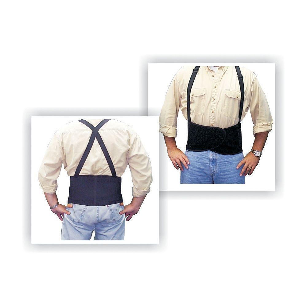 Workhorse Black Back Belt, One Size Fits All