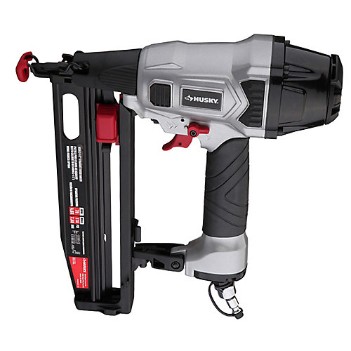 Pneumatic 16-Gauge 2-1/2-inch Straight Finish Nailer