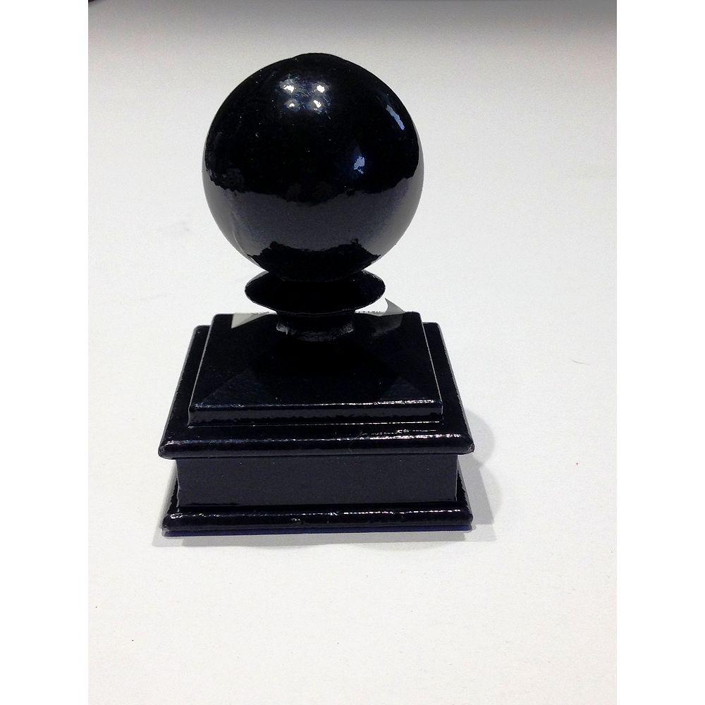 MEDALLION FENCE Ball Post Cap
