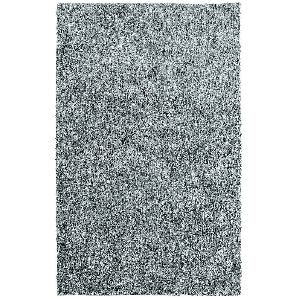 Lanart Rug Carpette d'intérieur, 5 pi x 7 pi 6 po, style contemporain, rectangulaire, gris Graphite