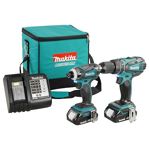 18V Cordless Impact Driver and Drill Driver Combo Kit (2-Piece)