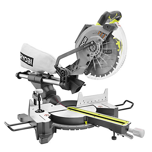 15-Amp 10-inch Corded Sliding Mitre Saw with Laser