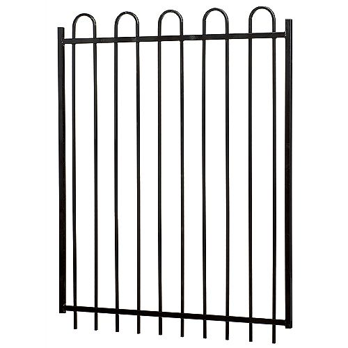 MEDALLION FENCE 60 Inch X 48 Inch Sterling Gate