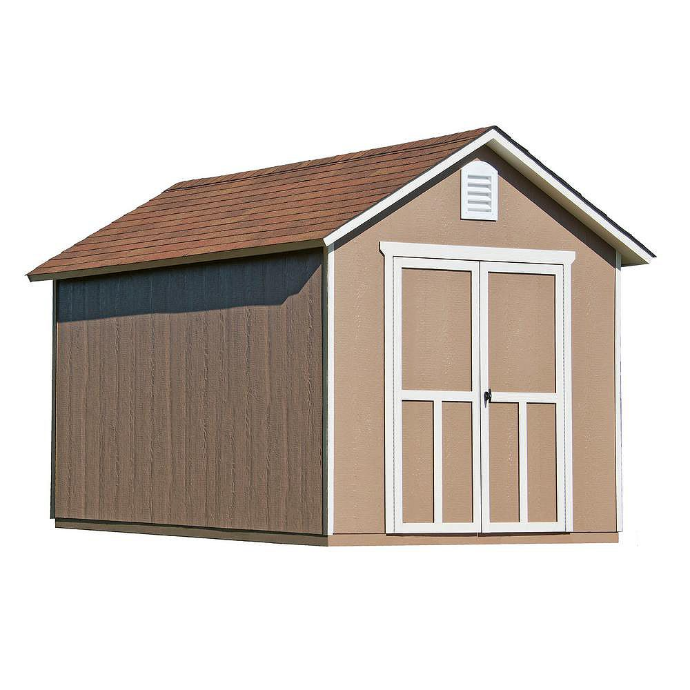 Handy Home Products 8 ft. x 12 ft. Meridian Shed