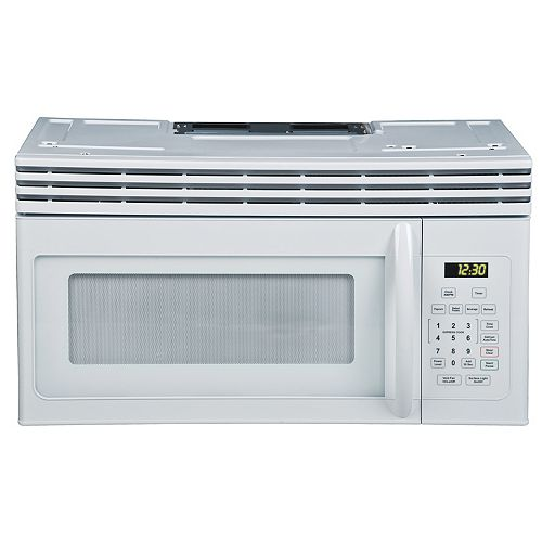 1.6 cu. ft. Over-the-Range Microwave Oven in White