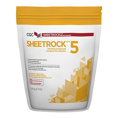 CGC 5 Composé pour joints à prise chimique, sac de 1,25 kg