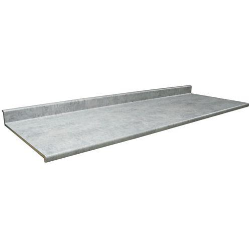 8830-58 Profile 2300 25 1/2-inch x 120-inch Kitchen Countertop in Elemental Concrete
