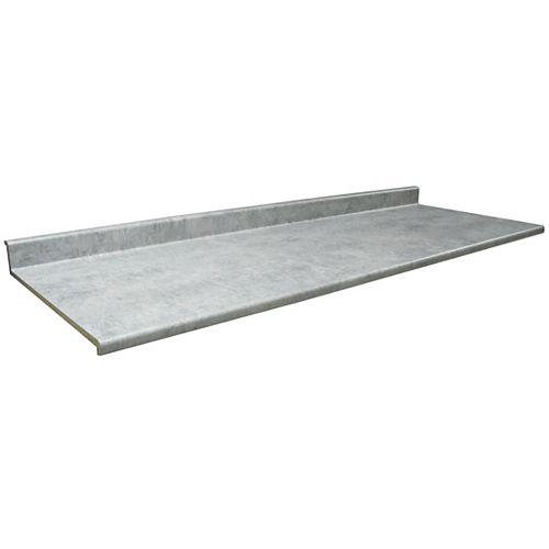 Kitchen Countertop, Profile 2300 , Elemental Concrete 8830-58, 25.5 inches x 96 inches