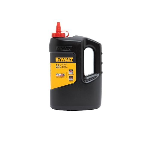 DEWALT 2.5  Lb Chalk - Red