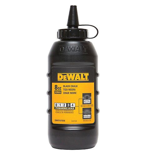 DEWALT 8 oz. Chalk in Black