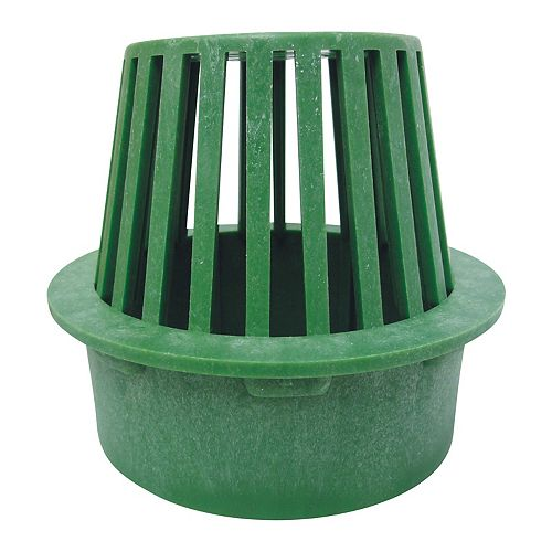 6- Inch Atrium Green Grate