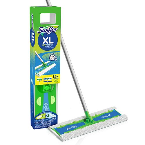Sweeper Dry + Wet XL Sweeping Kit (1 Sweeper, 8 Dry Cloths, 2 Wet Cloths)