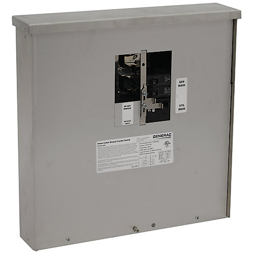200-Amp 7,500-Watt Non-Fuse Outdoor Manual Transfer Switch