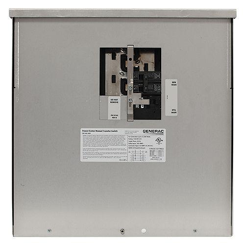 200-Amp 12,500-Watt Non-Fuse Outdoor Manual Transfer Switch