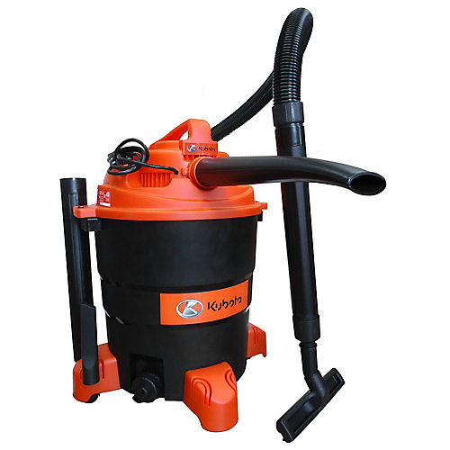 Wet/Dry Vac with Detachable Blower and Accessories (14.5G)