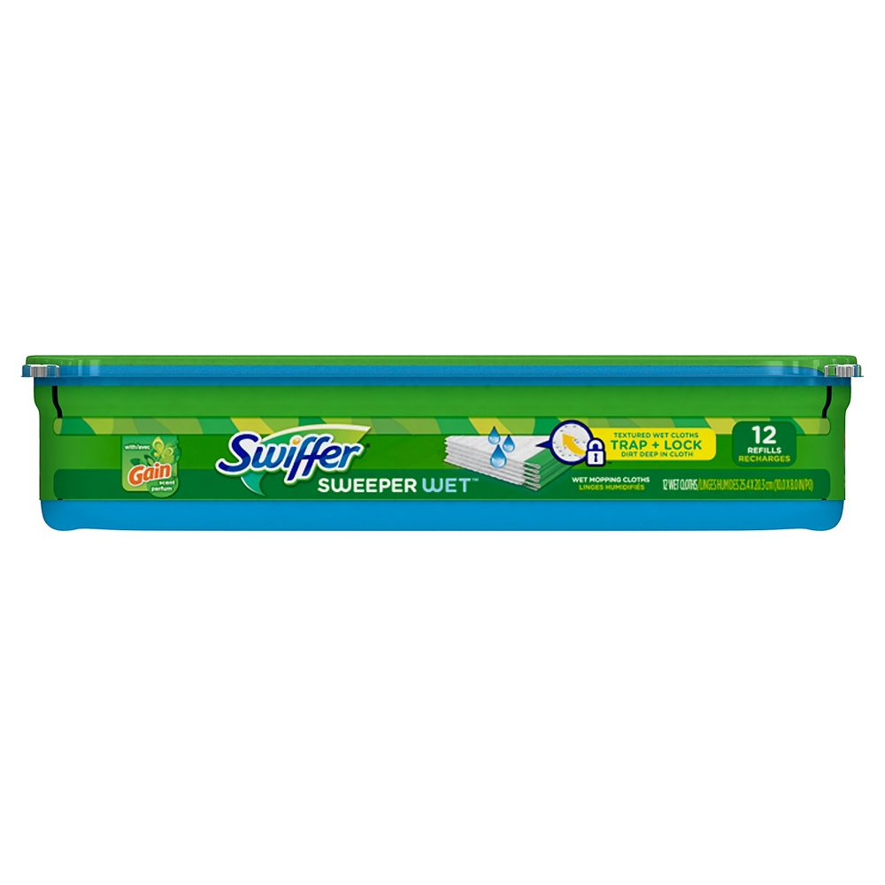 Swiffer WetJet Refill with Gain (12-Pack)