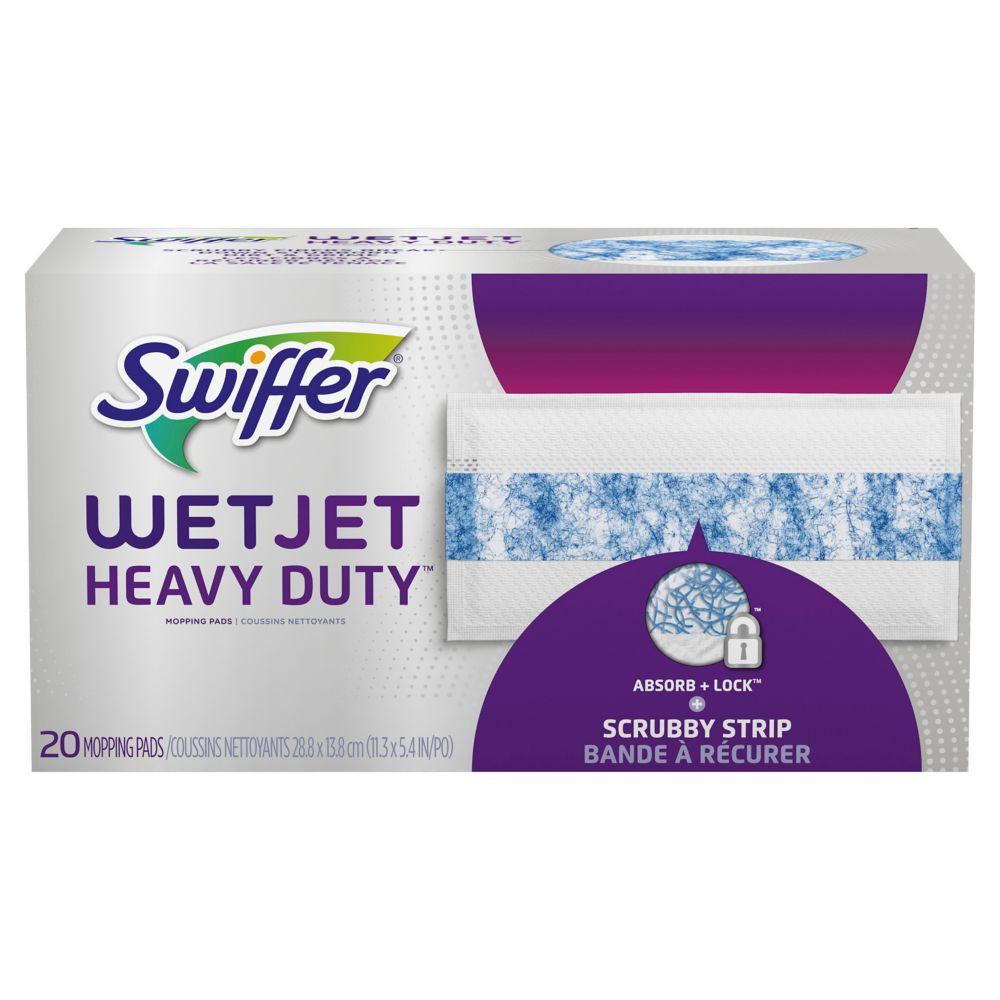 WetJet Heavy Duty Mopping Pads Refill (20-Pack)
