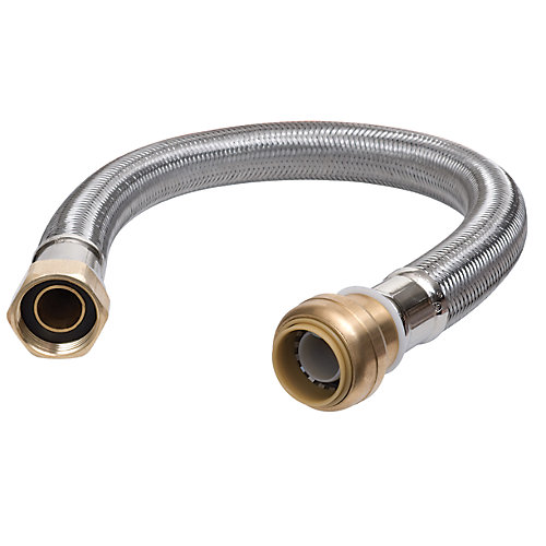 1/2 inch x 12 inch Water Heater Connector