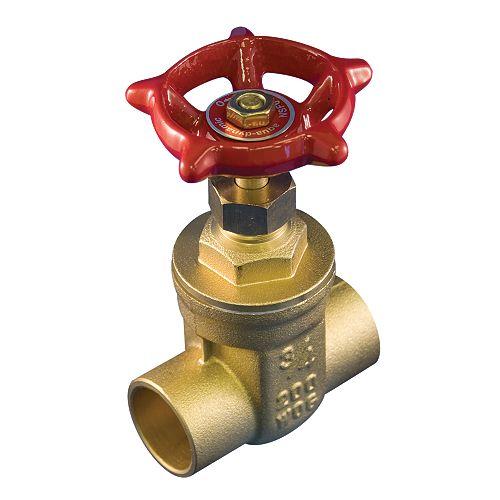 Aqua-Dynamic Robinet À Vanne 1/2 Pouce Laiton À Braser Sans Plomb
