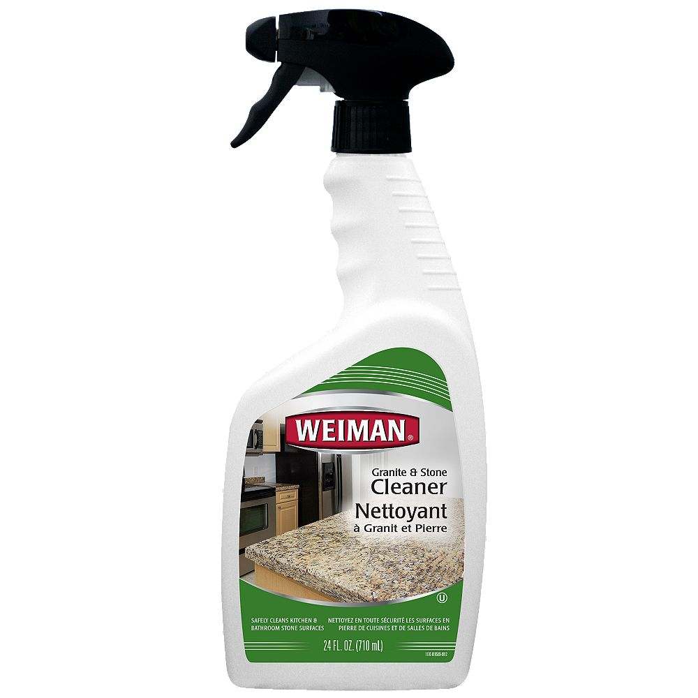 Weiman Granite Stone Cleaner Polish The Home Depot Canada