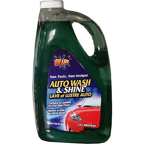 2L, Industrial Strength, Non-Toxic Auto Wash & Shine