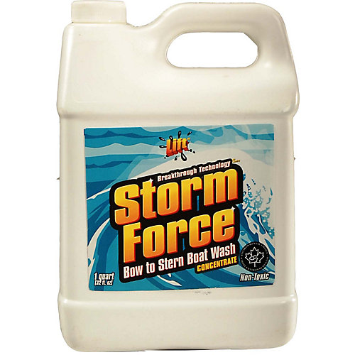 948 ml. Industrial Strength, Non-Toxic, Bow To Stern Boat Wash