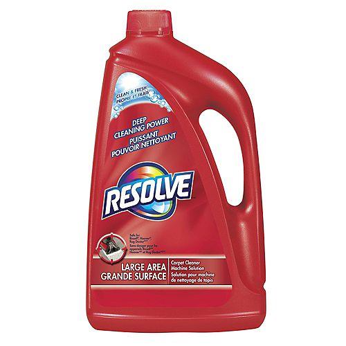 Nettoyant à tapis Resolve, puissant pouvoir nettoyant, Propre et frais, solution pour machine de nettoyage de tapis, 1,77L