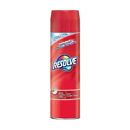 Nettoyant à tapis, Zones au trafic élevé, Clean & Fresh, Mousse, 623 g