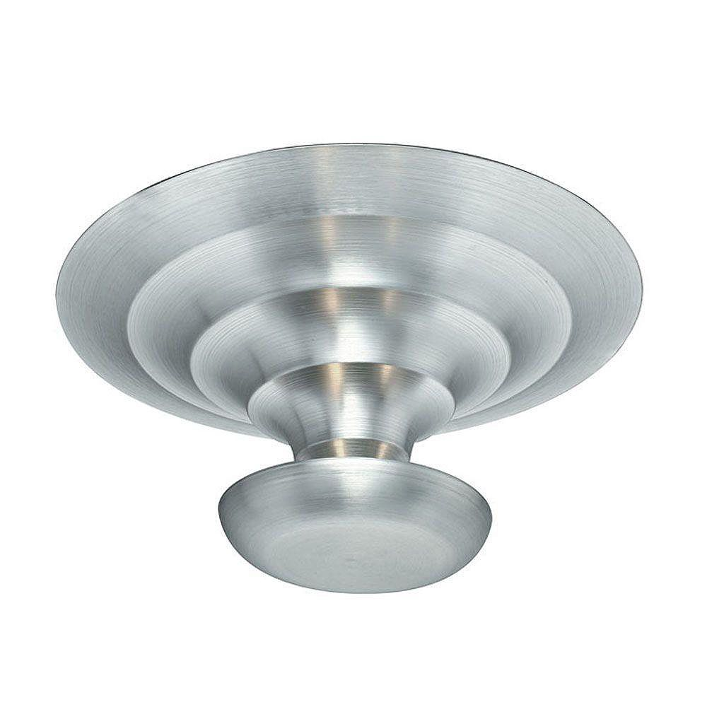 Eglo SCALEA Ceiling Light 1L, Black with Pattern Finish, Frosted Glass