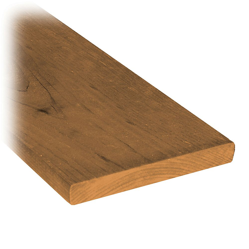 MicroPro Sienna 1 x 6 x 6' Treated Wood Fence Board LXSP106K06