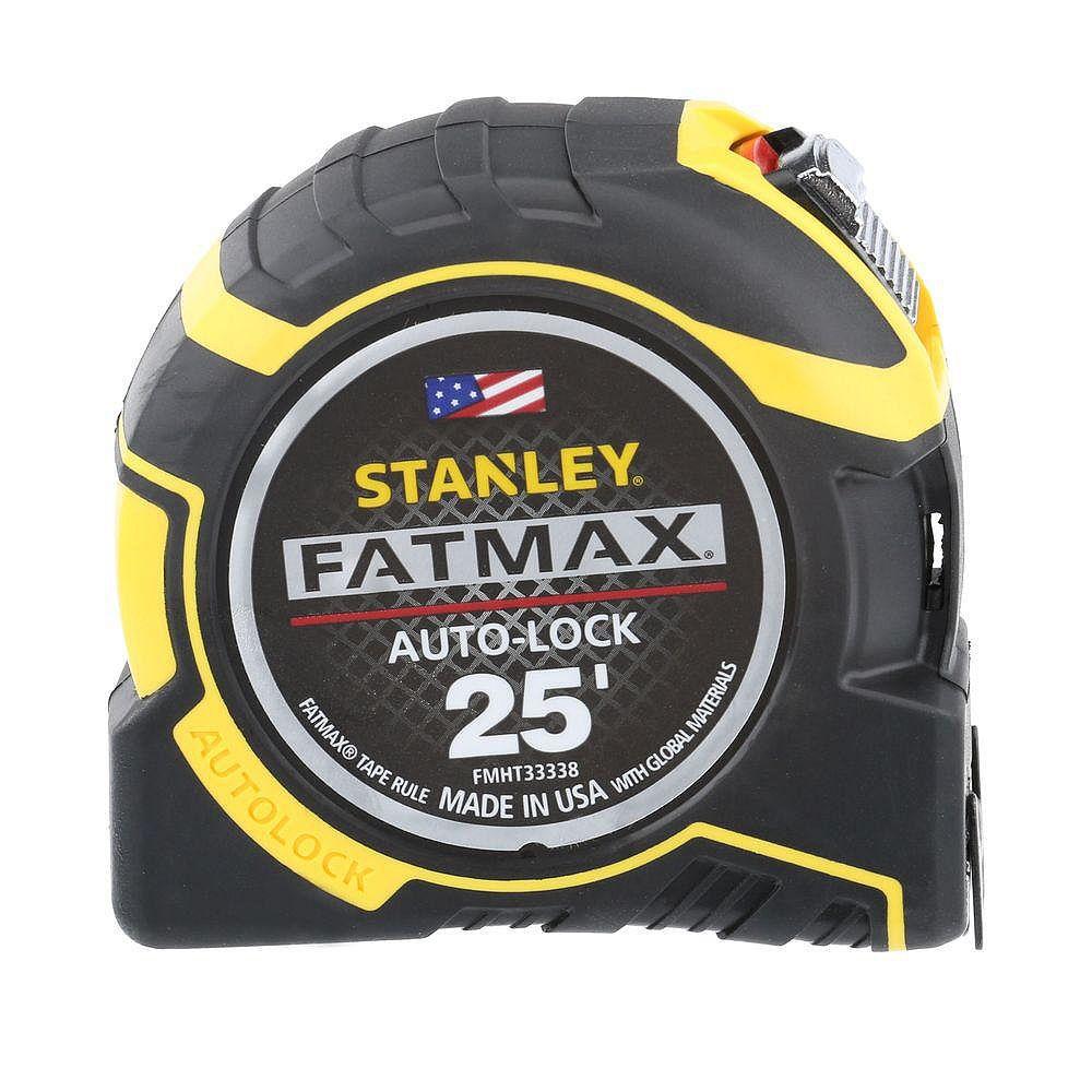 STANLEY FATMAX Fatmax 25' Auto Lock Tape