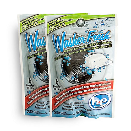 High Efficiency Washing Machine Cleaner & Refresher -(6-Pack)