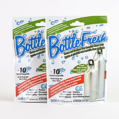 Water Bottle Cleaner & Refresher - (2-Pack)