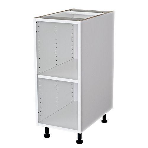 Vanity Base Cabinet 12x30x21 White