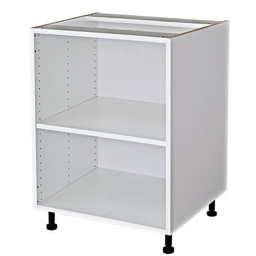 Vanity Base Cabinet 24x23x21 White