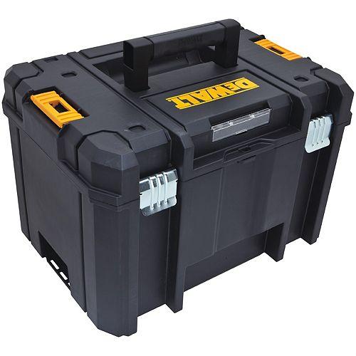 DEWALT TSTAK VI 17-inch Stackable Deep Tool Storage Box