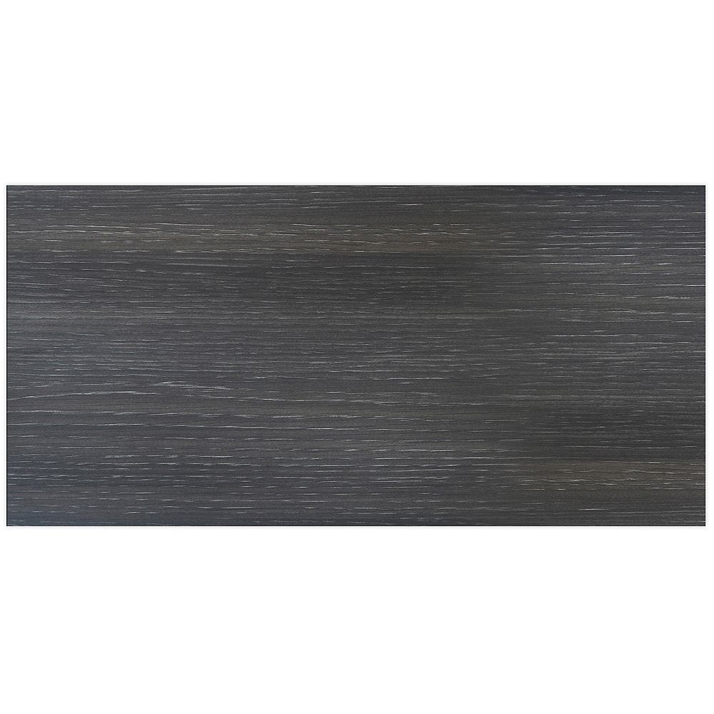 Eurostyle Leeds - Drawer front 30 inch x 15 inch - Melamine Steel