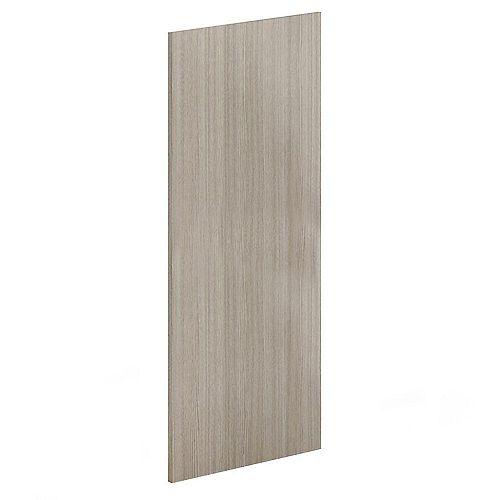 Panel 24 inch x 80 inch - Silver Pine Textured Melamine