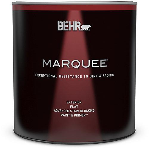 Peinture et apprêt en un MarqueeMD dextérieur avec fini mat blanc ultra pur (946ml)