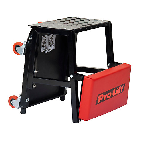 2-In-1 Creeper Seat And Stepstool