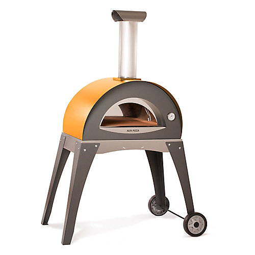 Forno Ciao Outdoor Wood Burning Pizza Oven with Cart