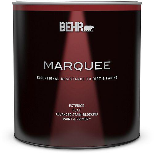 Peinture et apprêt en un MarqueeMD dextérieur avec fini mat et base foncée (946 ml)