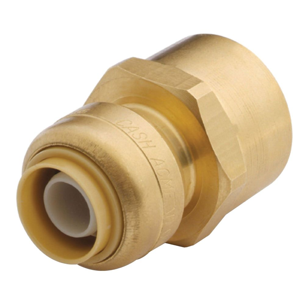 SharkBite Reducing Connector - 1/2 In. x 3/4 In. FNPT