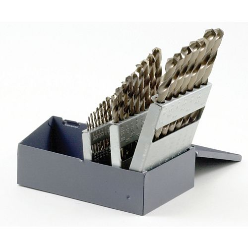 Bosch 29-Piece Metal Index Cobalt Drill Bit Set