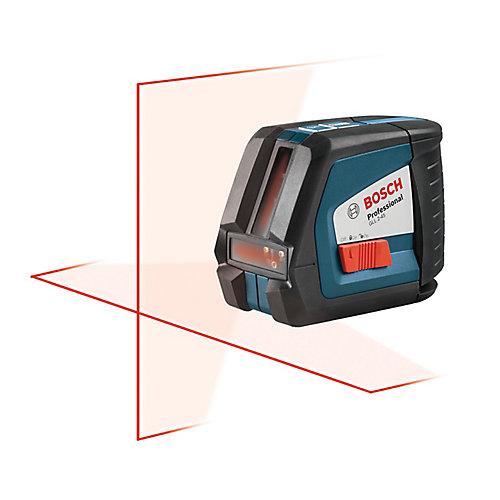 Self-Leveling Long-Range Cross-line Laser