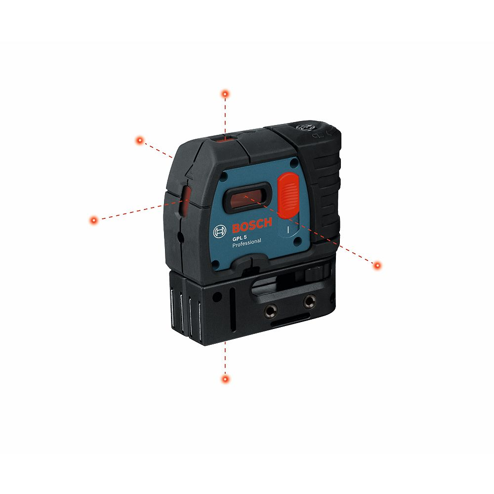 Bosch Self-Levelling 5-Point Plumb and Square Laser