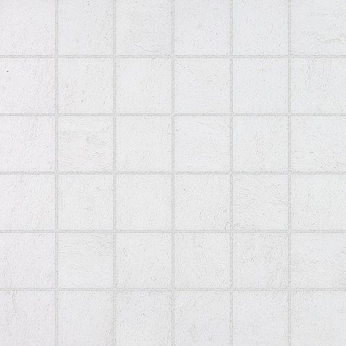 Enigma Mosaïques Cinq Blancs de 2 po x2 po