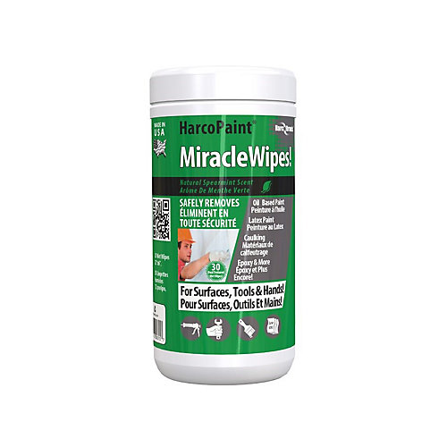 MiracleWipes - 30 Count
