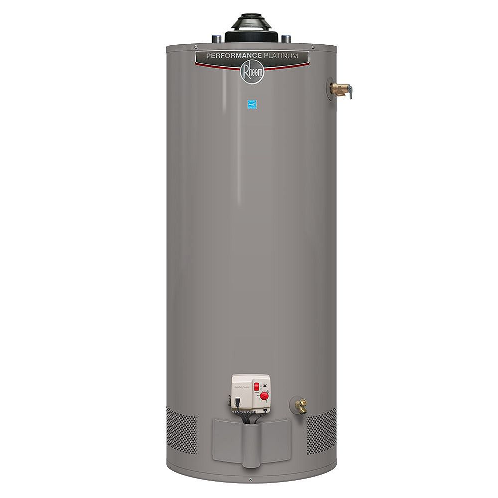 Rheem Performance Platinum 40 Gal Gas Water Heater with 12 Year Warranty