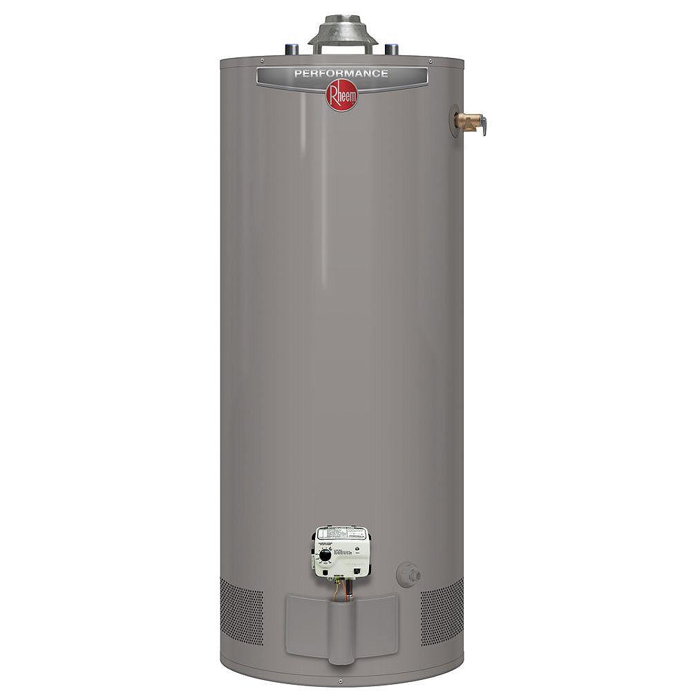 Rheem Performance 151L (40 Gal.) 38,000 BTU Gas Water Heater with 6 Year Warranty